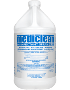 Disinfectant Spray Plus MBH-01 Mediclean 221522000 MicroBan
