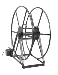 Electric Vacuum Hose Reel 250Ft ROV49-250-E Rokan