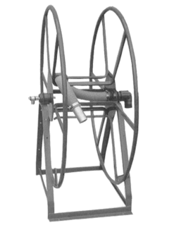 Live Vacuum Hose Reel 250Ft ROV49-250L Rokan