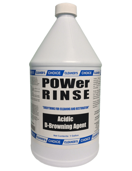 Power Rinse CD-8245-01 Cleaners Depot Choice D-Browner