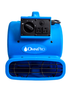 OmniDry Blue Mini Air Mover AC085 1626-6924