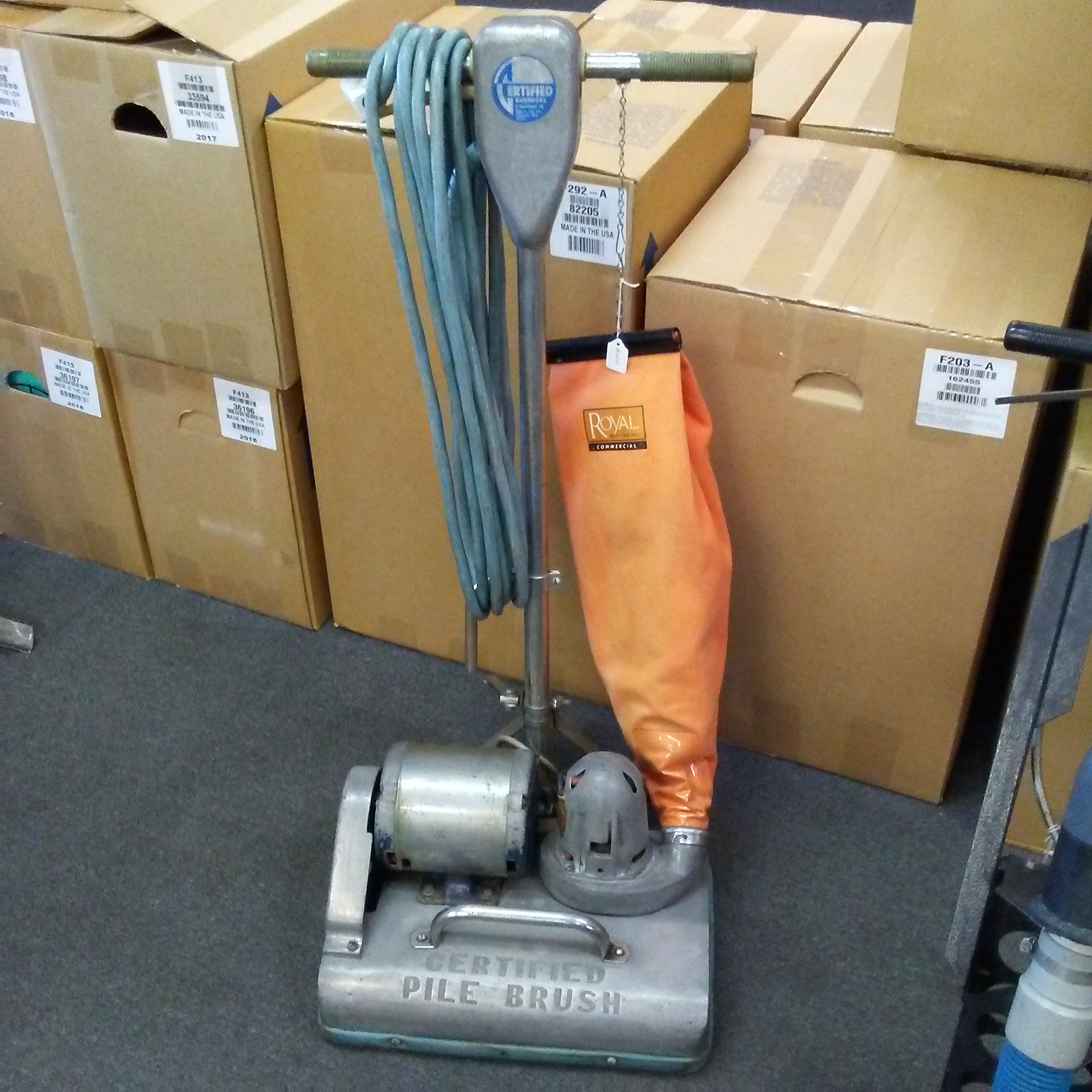 Used Certified Pile Brush
