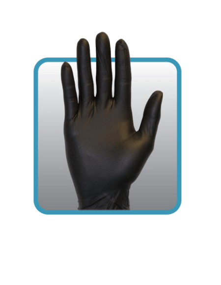 Black Nitrile Gloves GNPR-(SIZE)-1-K XL L BP-AX98B (2)