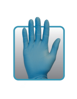 Blue Nitrile Gloves GNPR-(SIZE)-1A SZ-GNPR-XL-1A L-1A (1)