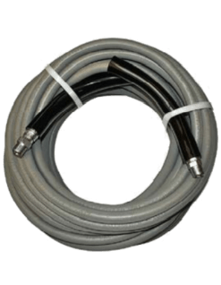 25ft Eaglewash Grey Solution Hose SH125