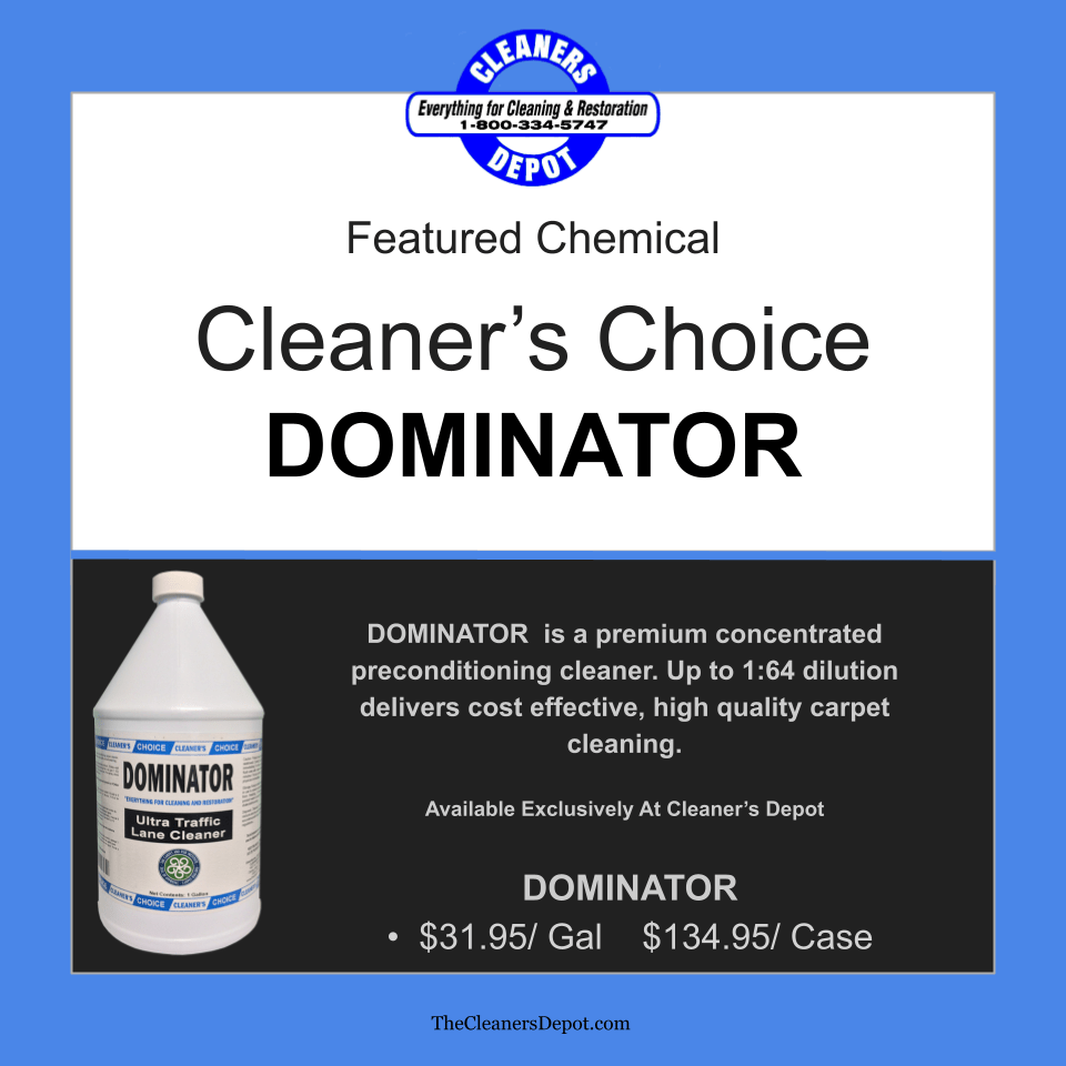 Dominator Featured CD-8592-01 Cleaners Choice
