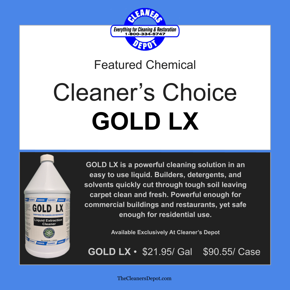 Gold LX Featured CD-8800-01 Cleaners Choice