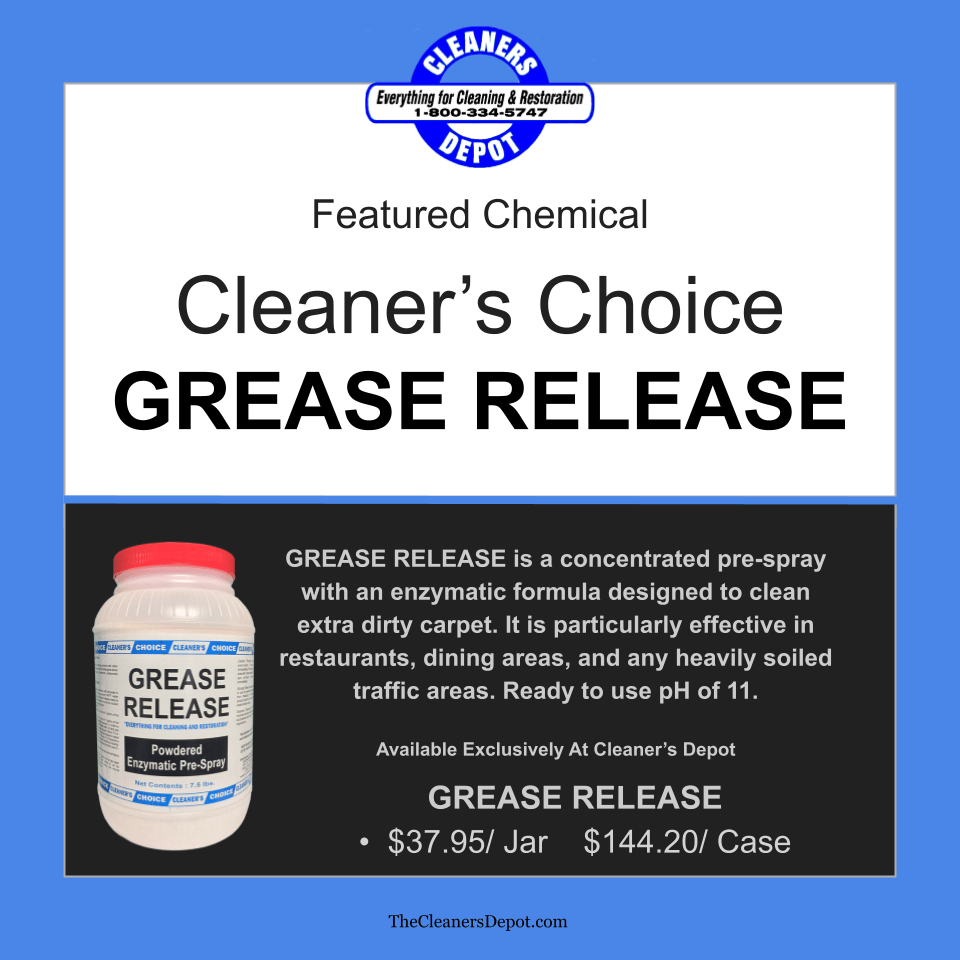 Grease Release Featured CD-8089-08 Cleaners Choice