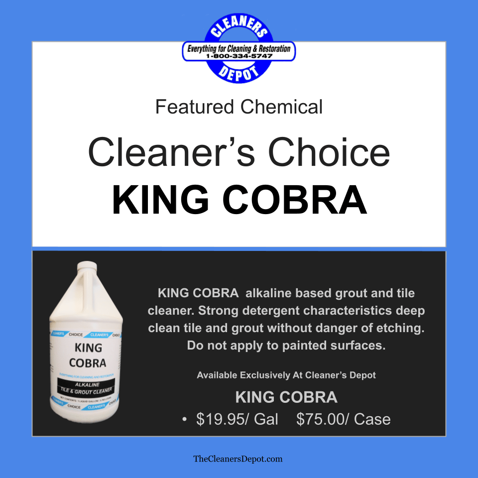 King Cobra Featured CD-P194-04 Cleaners Choice