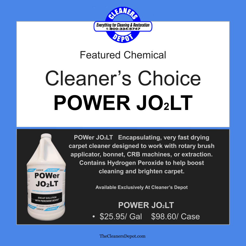 Power Jolt Featured CD-P188-04 Cleaners Choice