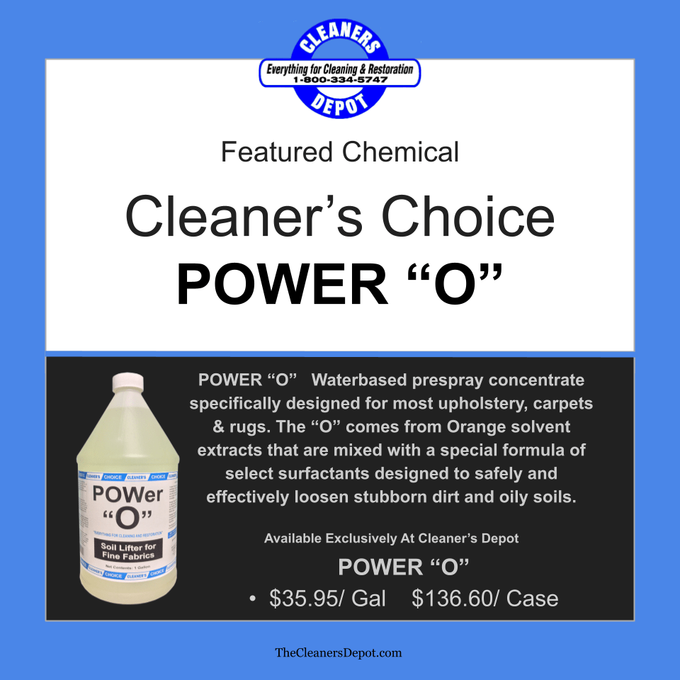Power O Featured CD-5959-01 Cleaners Choice