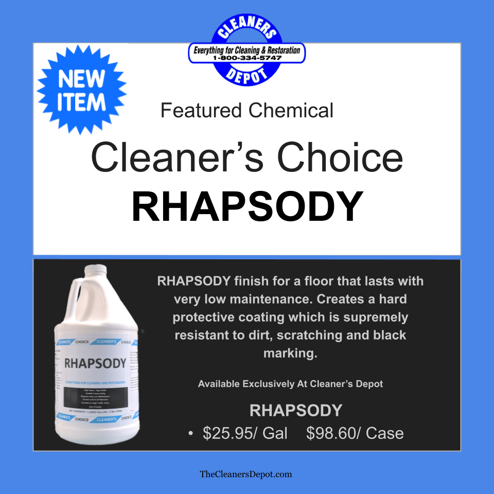 Rhapsody Featured CD-P525-01 Cleaners Choice