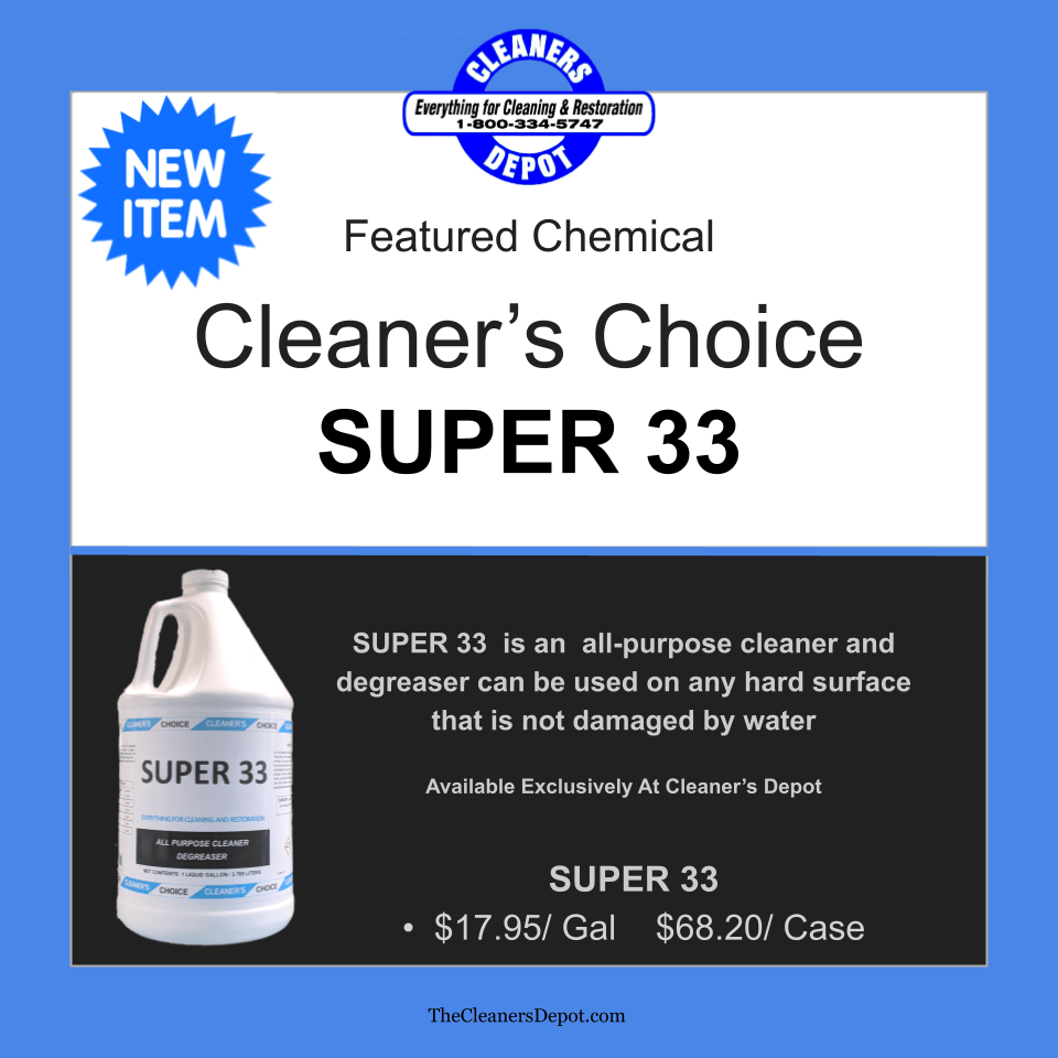 Super 33 Featured CD-P101-01 Cleaners Choice