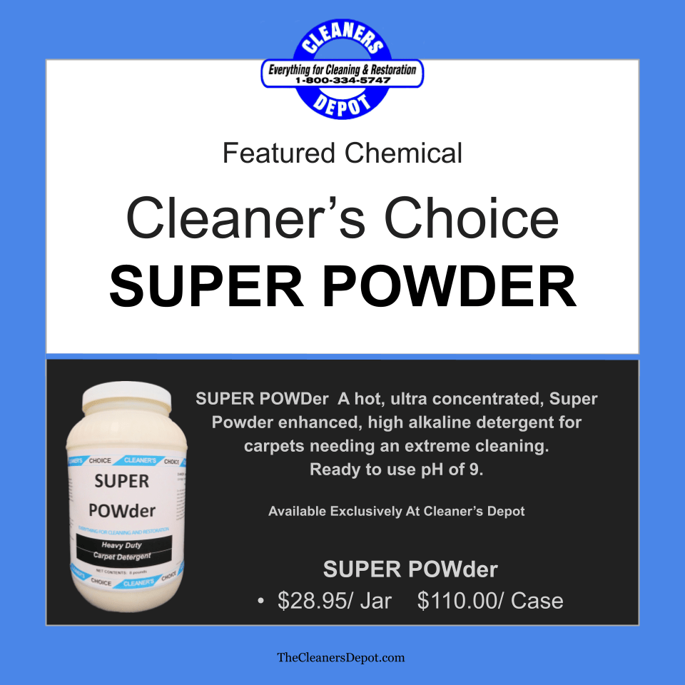 Super Powder Featured CD-H1648-04 Cleaners Choice