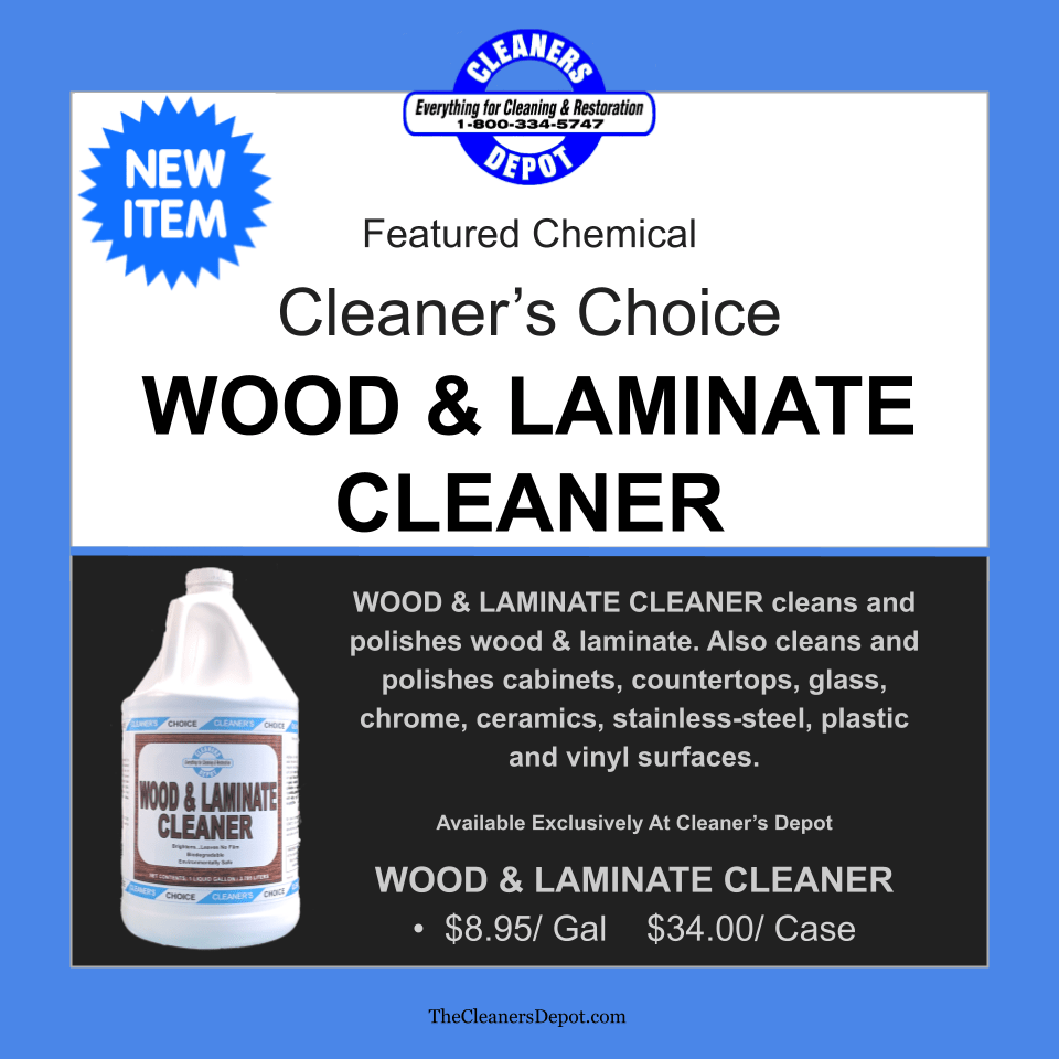 Wood and Laminate Featured CD-P104-01 Cleaners Choice