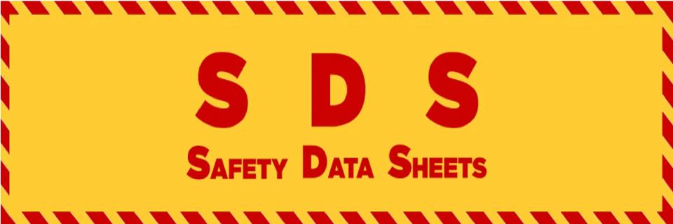 SDS Sheets MSDS